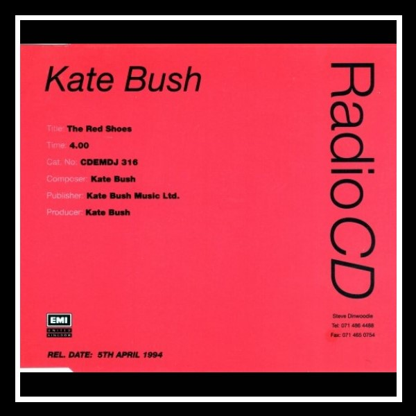 The Red Shoes England Promo Maxi CD A (2)