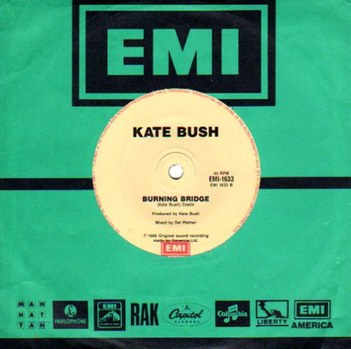 Cloudbusting Burning Bridge EMI 1633 Australia B