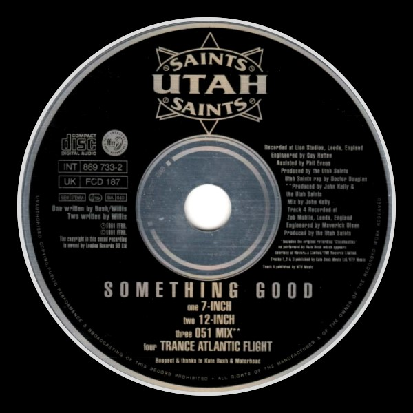 Utah Saints Something Good C