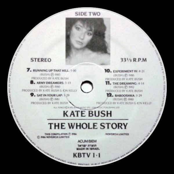 The Whole Story Israel B