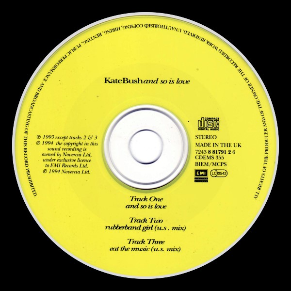 And So Is Love Jewel Case England