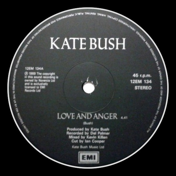 Love And Anger England C