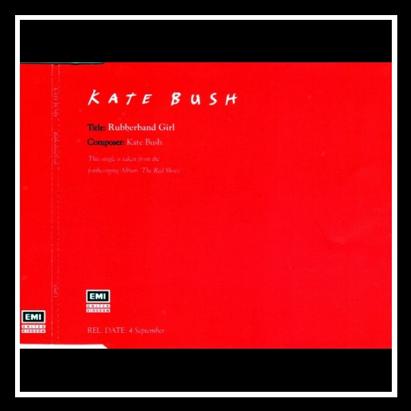 Rubberband Girl England Red Promo Maxi CD A