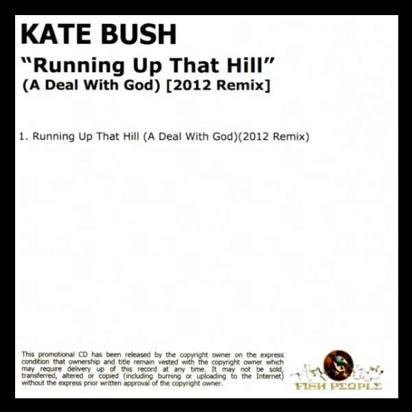 Running Up That Hill England Promo CD B