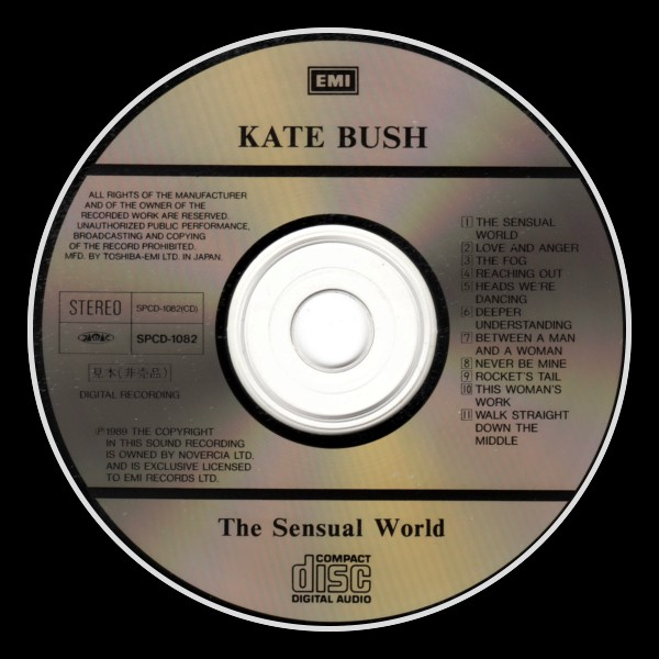 The Sensual World Promo Sampler Japan