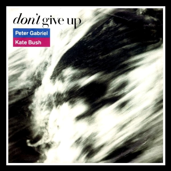 Don't Give Up Promo Sticker England A