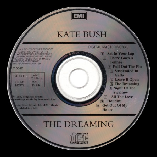 The Dreaming Reissue England C