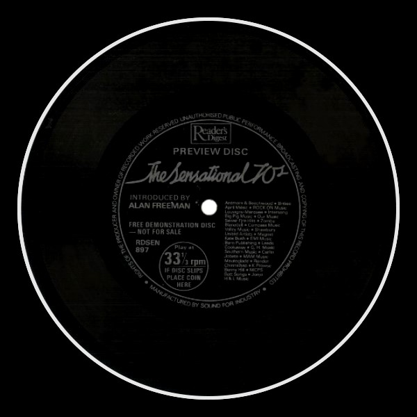 Wuthering Heights Flexi Disc England A