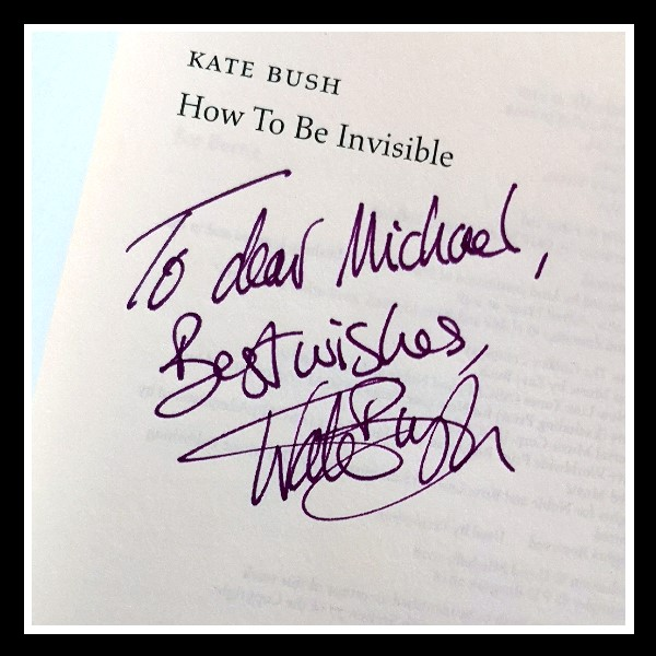 How To Be Invisible signed B