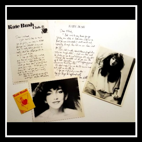 Kate Bush Club Welcome Package A Frame