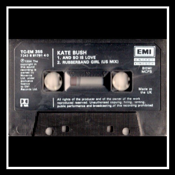 And So Is Love Cassingle England C