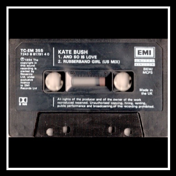 And So Is Love Cassingle England D