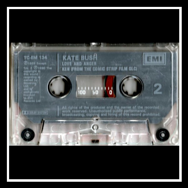Love And Anger Cassingle England D